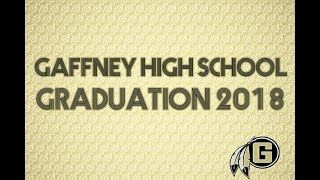 Gaffney High School Graduation 2018