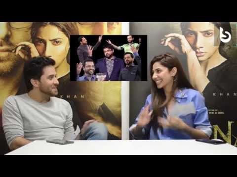 Brandsynario Presents Mahira Khan & #HaroonShahid Playing