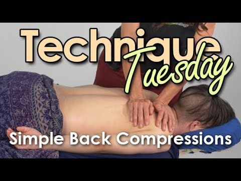 Technique Tuesday - Simple Back Compression