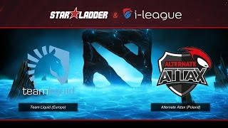 [DOTA] SL i-League StarSeries XIII : Team Liquid vs Alternate Attax -  SZD