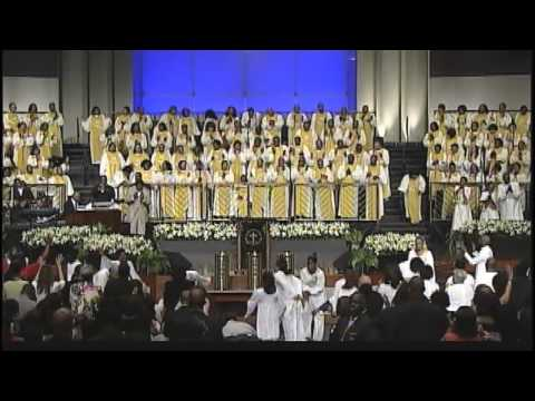 """Come Thou Almighty King"" Anthony Brown & FBCG Combined Choir (ANOINTED CHOIR)"