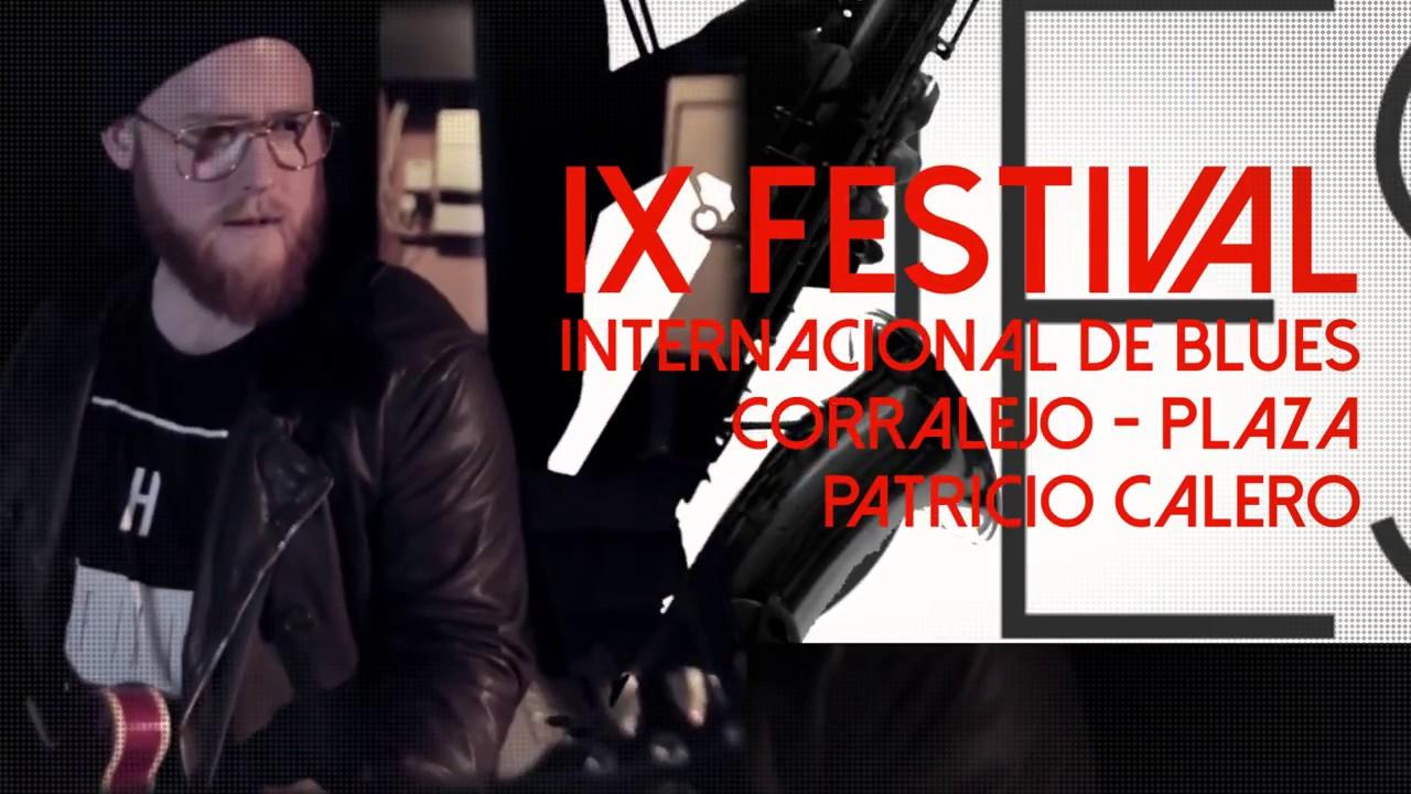 IX festival internacional de blues. 21-22 octubre en Corralejo, Fuerteventura