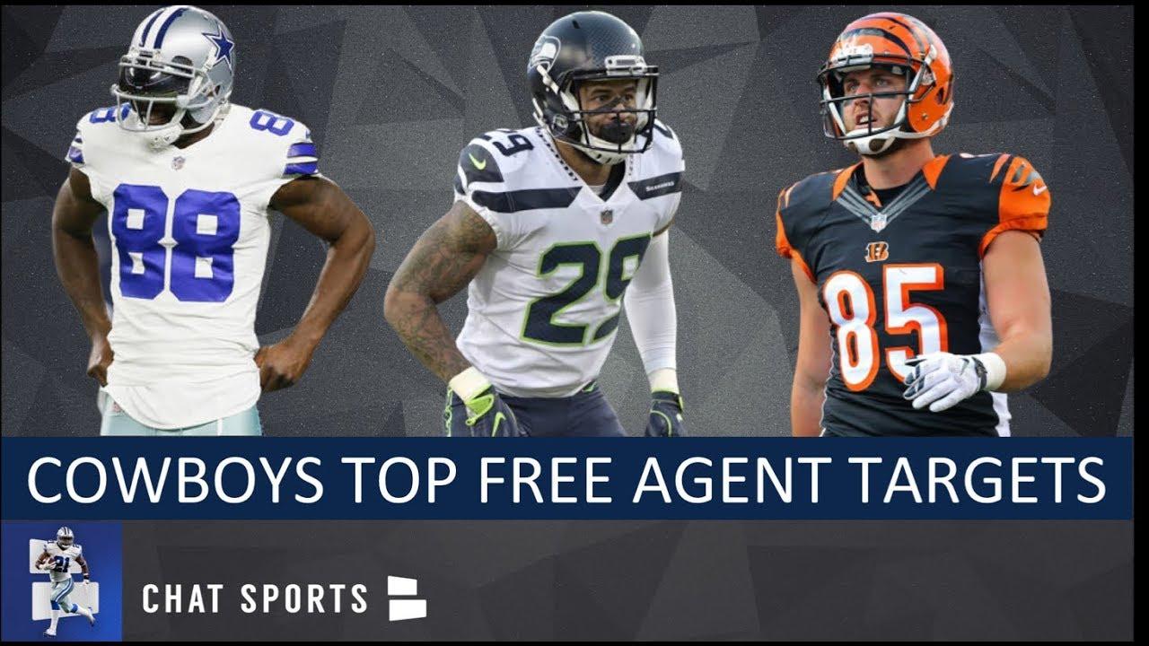 Dallas Cowboys  Top 25 Free Agent Targets - YouTube c9cbbdb24