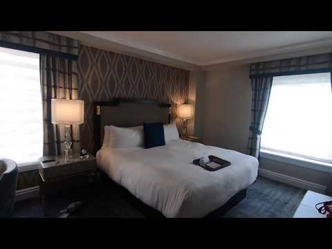 Fairmont Empress Hotel, Victoria, Canada - Deluxe Room