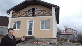 Строительство коттеджей в Новороссийске.  Обзор мансардного дома