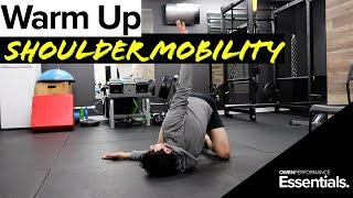 Shoulder Mobility For Athletes