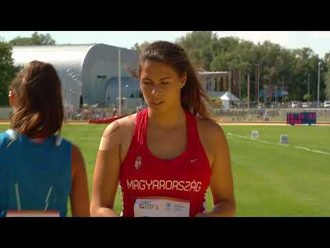 0725 athletics hammer throw 3kg U17 women final h264