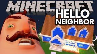 MOST INTENSE BATTLE LEADS TO THE DARKEST SECRET   Hello Neighbor Minecraft   Multiplayer Roleplay