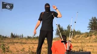 Шок!!! ИГИЛ Казнь заложника! 2015