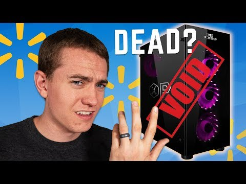 Walmart Abandons Their Gaming PCs After Outrage?!
