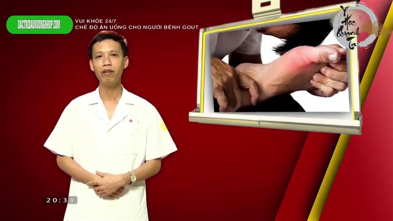 Chế Độ Ăn Uống – Sinh Hoạt Cho Người Bệnh Gout