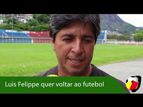 Luís Felippe deseja voltar ao futebol