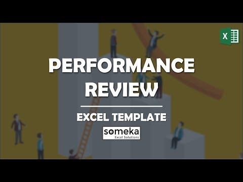 Performance Review Template | Employee Evaluation in Excel