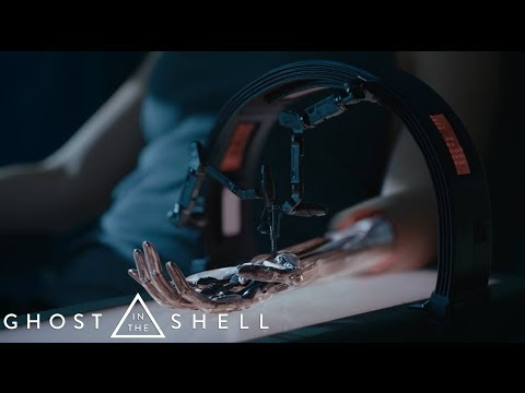 Ghost in the Shell (2017) - Arm Repair Scene [HD]