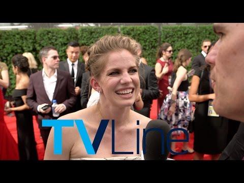 "Anna Chlumsky ""Veep""Interview at Emmys 2015 - TVLine"