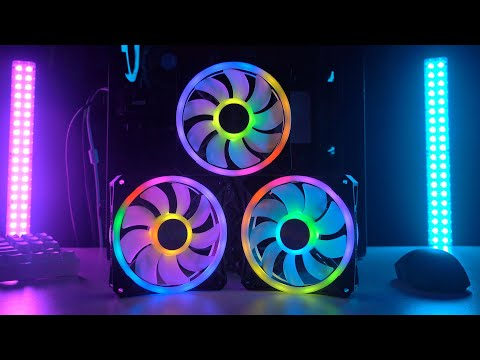 Okay...THESE are the BEST RGB CASE FANS   Corsair QL RGB Review