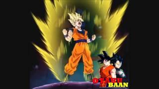 Goku gritando furioso GIF com som