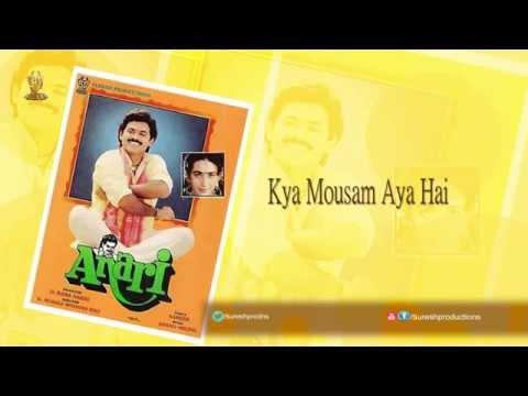 Kya Mousam Aya Hai Song | Anari Movie Songs | Venkatesh | Karishma Kapoor | K Muralimohana Rao