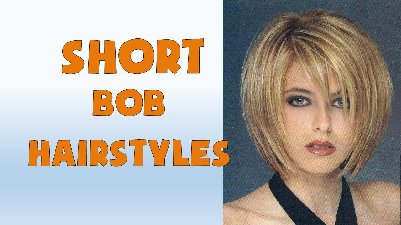 Short Bob Hairstyles and Haircuts Trend 2018 - YouTube