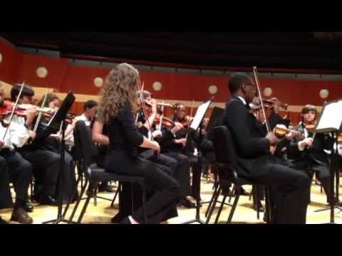 UGA 2014 Fall Orchestra Festival Beethoven's 5th Symphony Finale