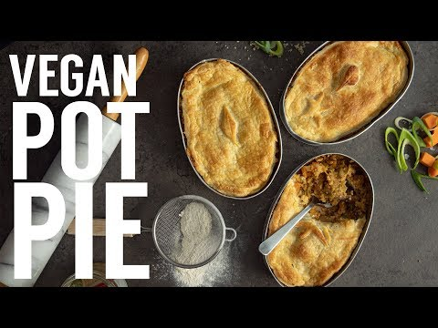 EASY VEGAN POT PIE | VEGAN THANKSGIVING | THE HAPPY PEAR