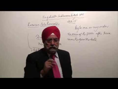 Bills of Exchange  Class 11 Accountancy by Dr. Balbir Singh