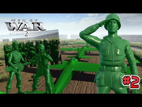 Going behind enemy lines ! : Army Men of War: Episode 2 : The Raid