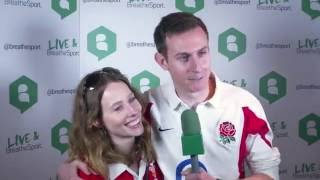 RWC 2015 - Eng v Wales Fan Reaction
