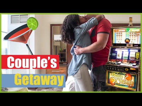 Couple's Getaway To Blue Chip Casino Hotel | Date Night | AJ Daily