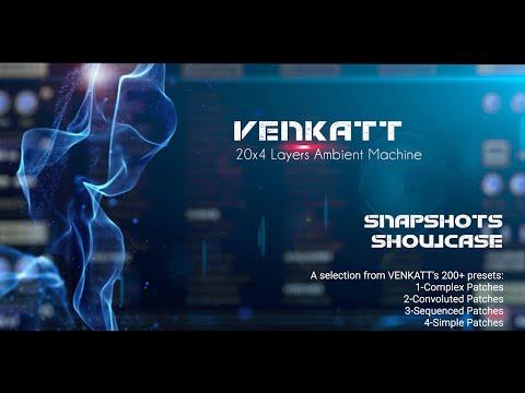 Audiofier VENKATT - Snapshots Showcase