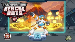 Transformers Rescue Bots: Disaster Dash Hero Run #252 | BLADES: Copter-Bot, LAVA Mission!