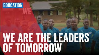We are the leaders of tomorrow