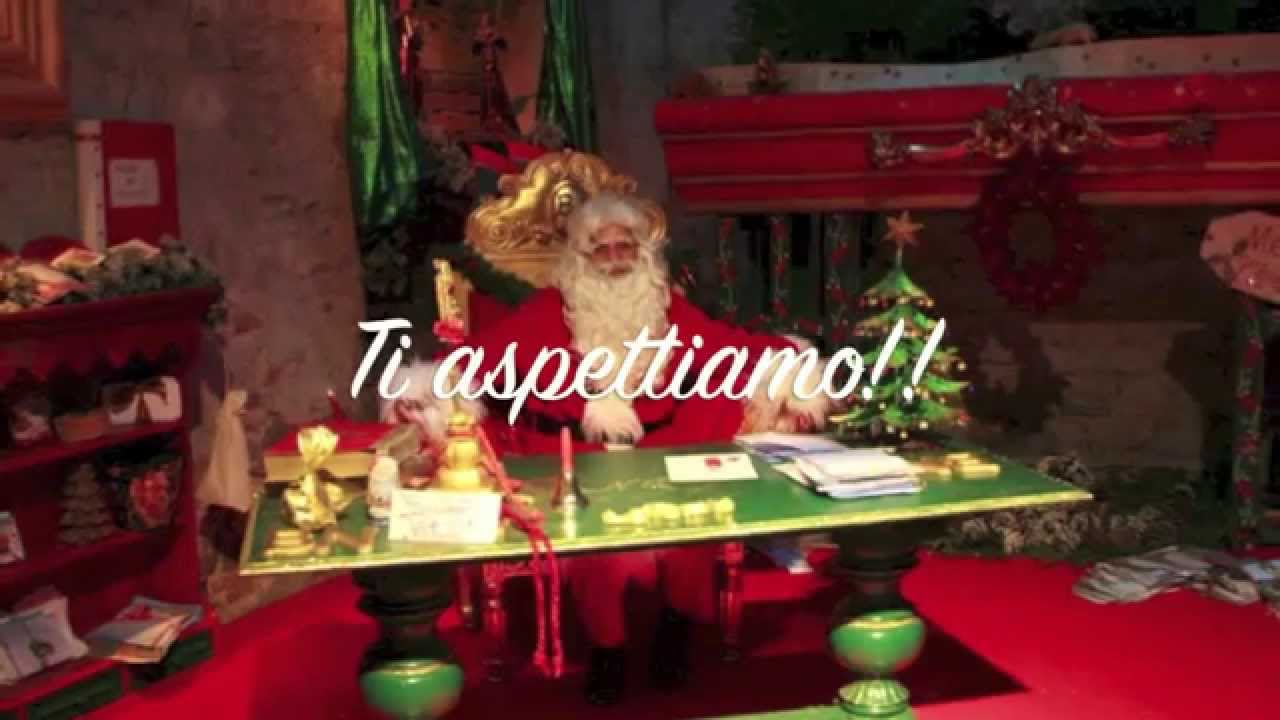 Casa di Babbo Natale Montecatini Terme 2014  YouTube
