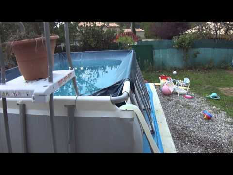 Comment r parer une fuite de piscine avec procol mastic doovi - Comment vider une piscine ...