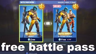 i got the Season 7 Battle Pass for FREE in Fortnite by doing this...