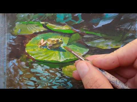 I Paint a Frog and Wonder What He Sees
