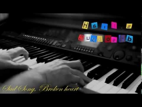 "SAD PIANO & Violin MUSIC ♥♫ ""Broken Heart"" Beautiful ♥♫"