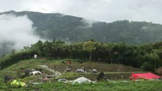 午後山嵐陣陣飄來,夏日避暑的好營地!http://lulin.com.tw.