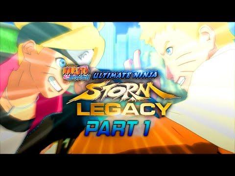 Naruto Shippuden: Ultimate Ninja Storm Legacy -  Storm 1 Walkthrough Part 1 (PS4)