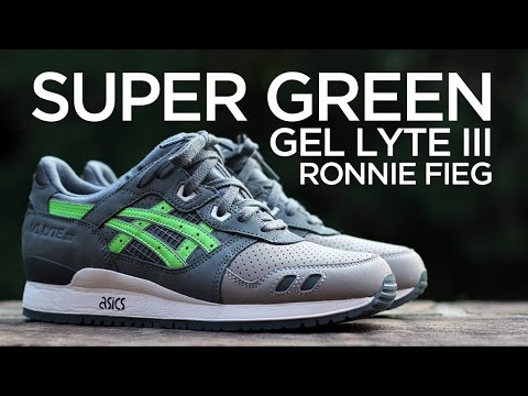 sports shoes c4c67 cce53 Closer Look: Ronnie Fieg x Asics Gel Lyte III -