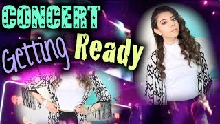 Get Ready With Me: Concert! (Makeup, Hair & Outfit) Thumbnail