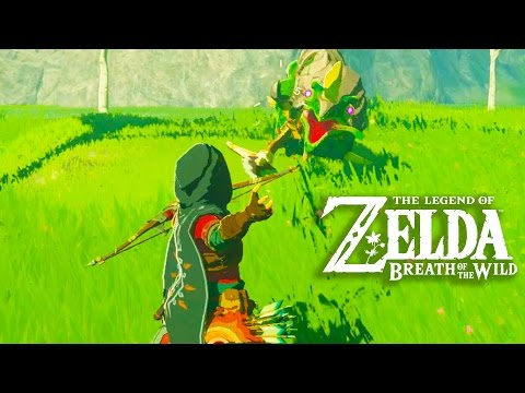 The Legend of Zelda Breath of the Wild Gameplay + Full Game Impressions (Exclusive Switch Gameplay)