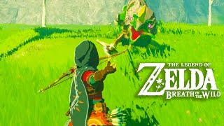 the legend of zelda breath of the wild gameplay full game impressions exclusive switch gameplay