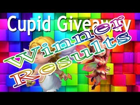 Castle Clash-Cupid/Pixie Giveaway Winner