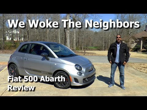 Fiat 500 Abarth Review - We Woke the Neighbors With This Thing!