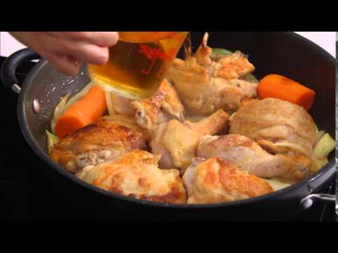 Fricassee of Chicken in Cider | Everyday Gourmet S4 E3