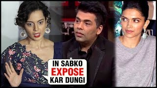 Kangana Ranaut Full EXPLOSIVE Interview On Manikarnika Controversy