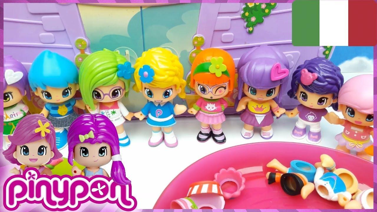 TANTISSIME PINYPON CON CUI GIOCARE - bambole per bambine - smonta