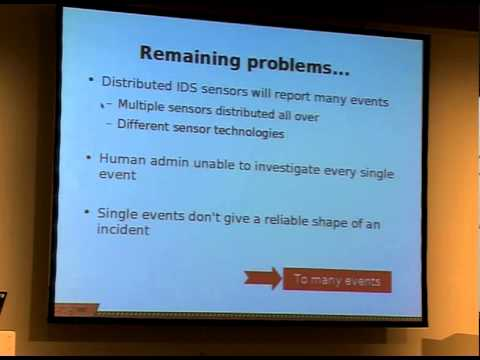 22C3 - intrusion detection systems
