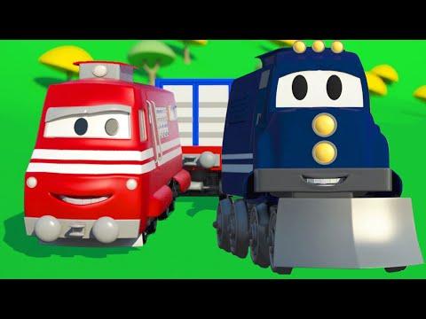 คาร์ล ซุปเปอร์ทรัค ⍟  ลุยกันเลย !! คาร์ล เจ้ารถไฟ !!   🚚 คาร์ซิตี้ - การ์ตูนรถบรรทุกสำหรับเด็ก